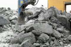 Malmikiven rikotusta Kevitsan kaivoksella